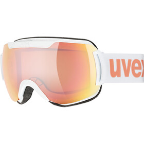 UVEX Downhill 2000 CV Masque, white mat/colorvision rose energy